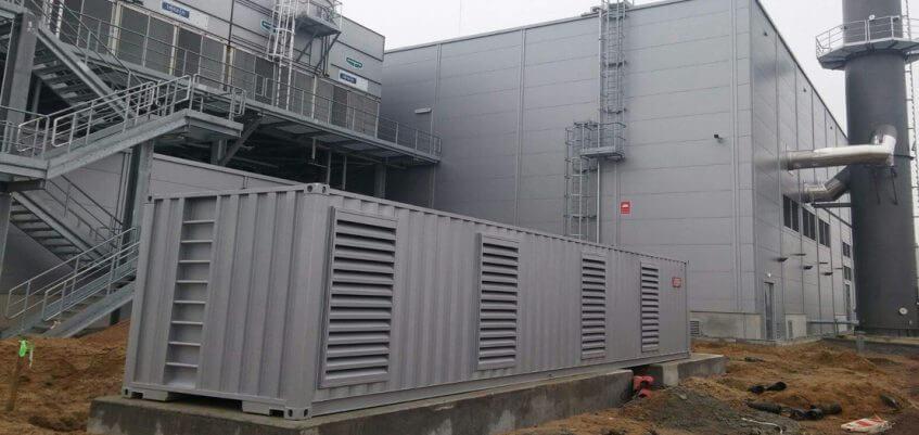 Дизельный генератор Fogo Twin завод Volkswagen