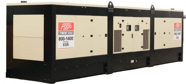 Дизельный генератор 640 кВт Fogo FDT 800 SS